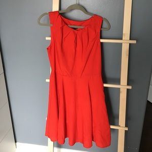 Blood red short dress